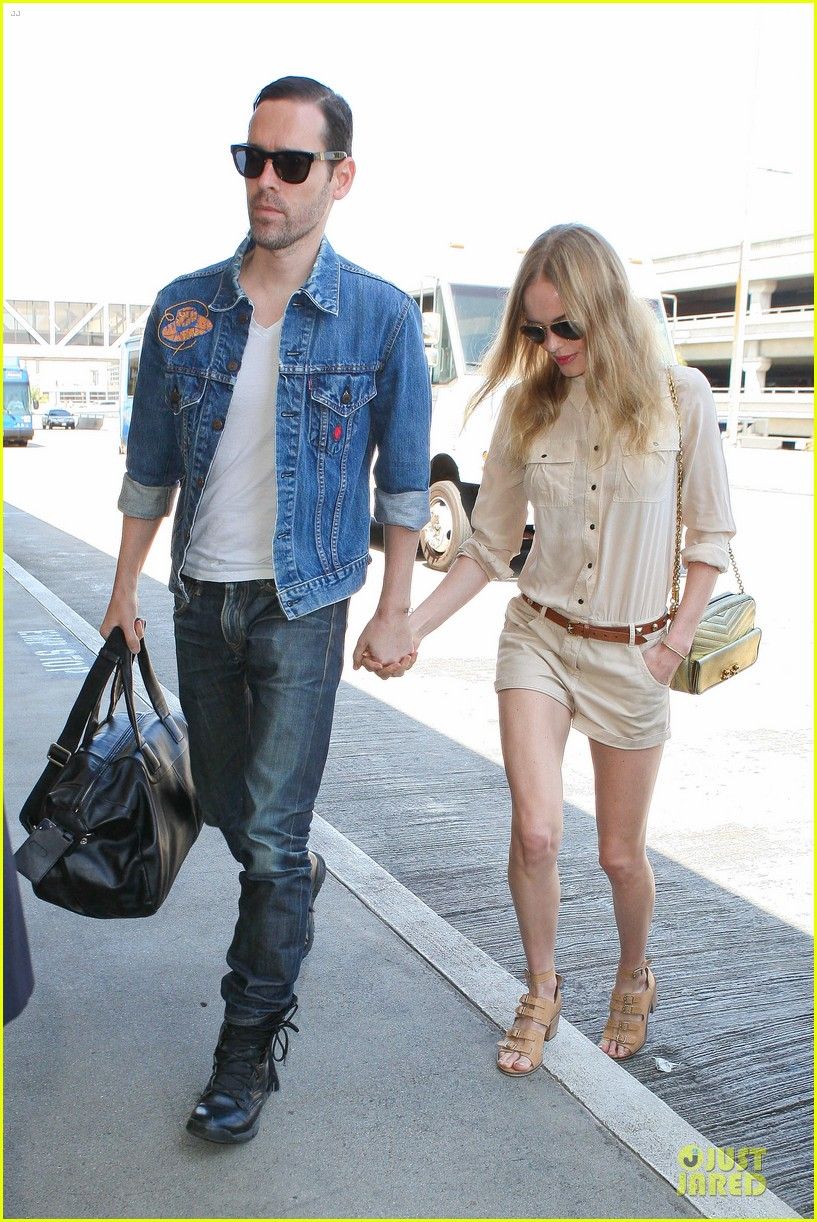 kate bosworth michael polish big sur support at lax 012919560
