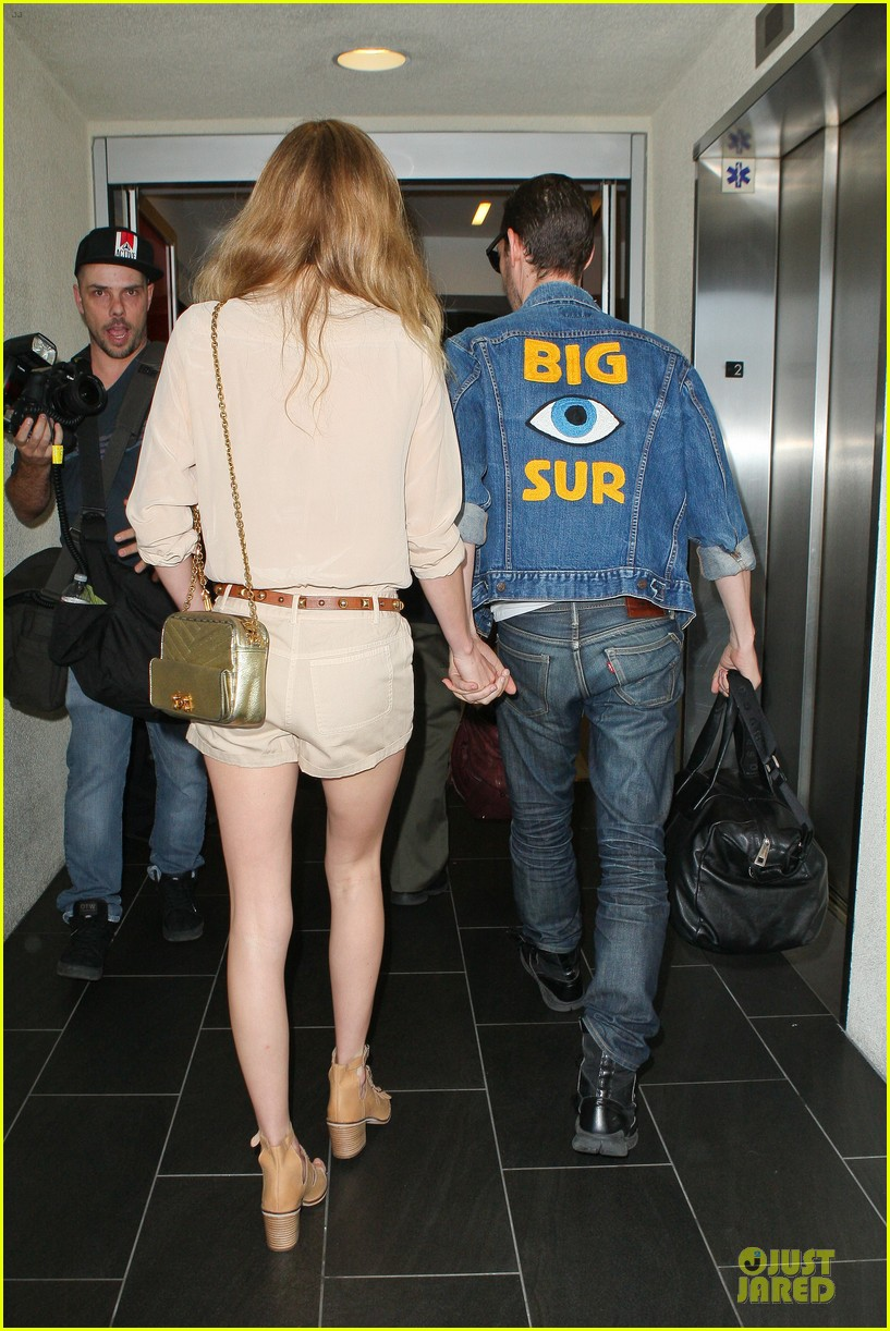 kate bosworth michael polish big sur support at lax 02