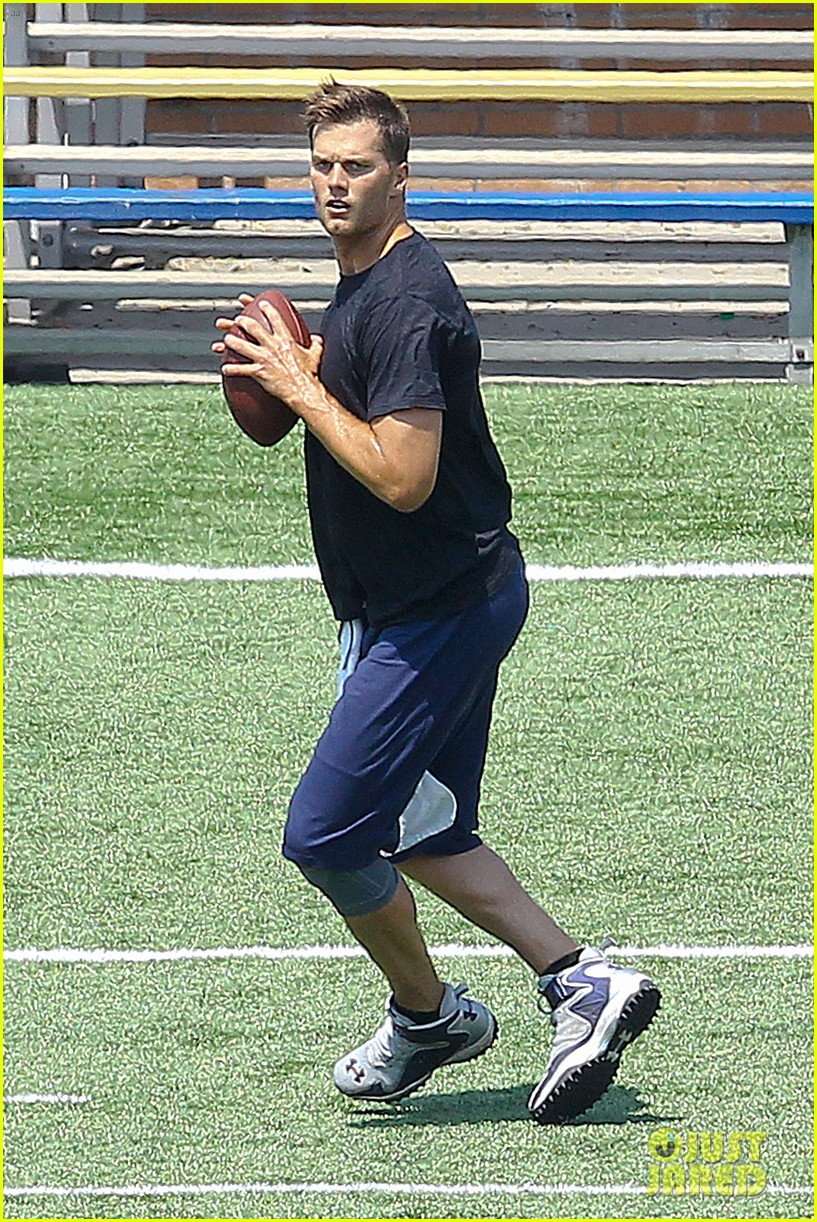 tom brady independence day football practice 06
