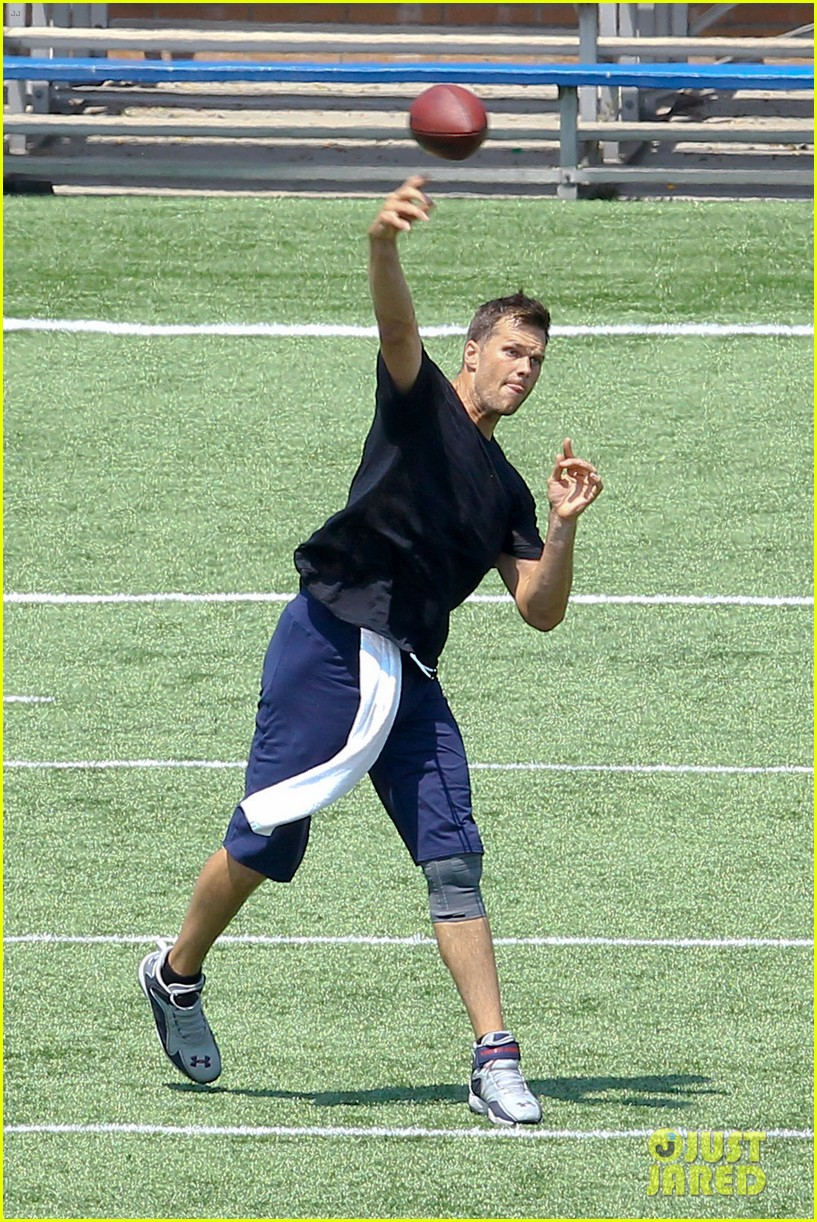 tom brady independence day football practice 152904080