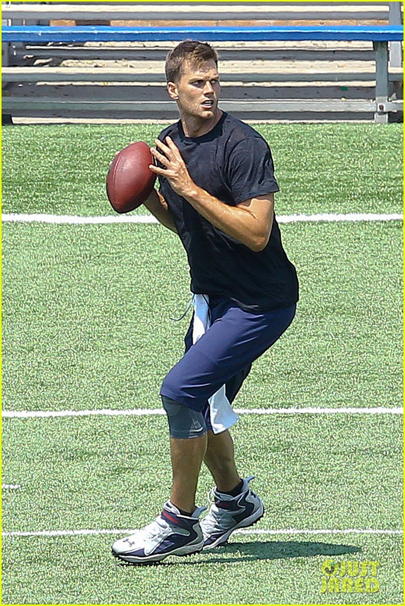 tom brady independence day football practice 162904081