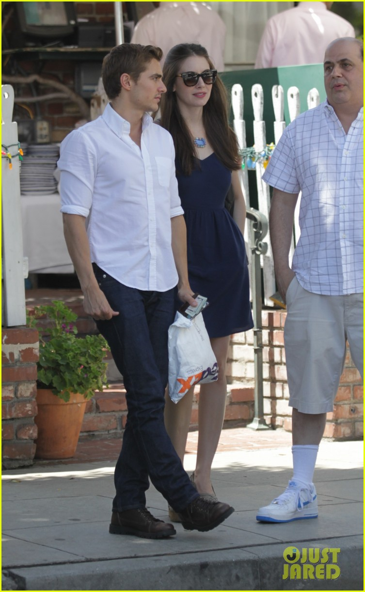 dave franco alison brie lunch date at the ivy 032920045