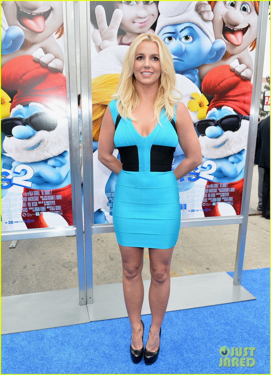 britney spears smurfs 2 premiere with sean preston jayden james 102918775