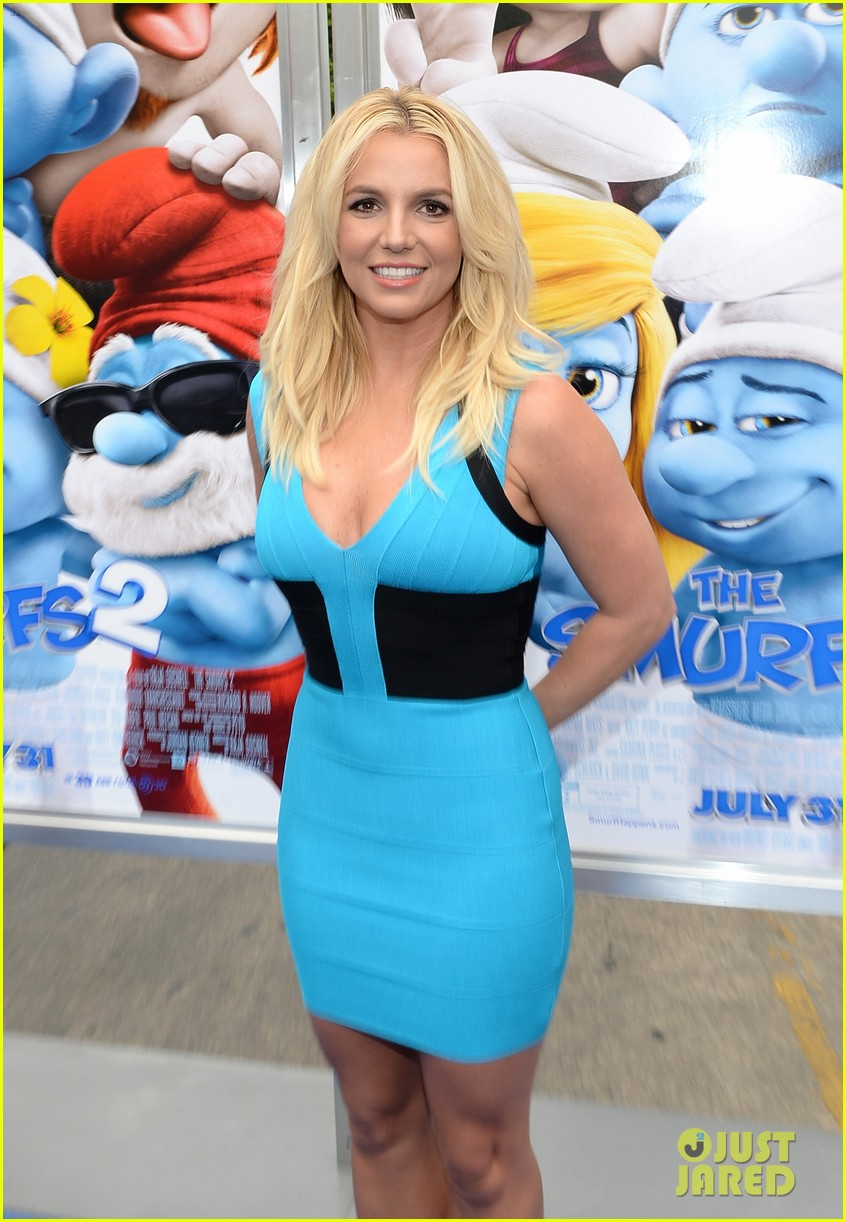 britney spears smurfs 2 premiere with sean preston jayden james 122918777