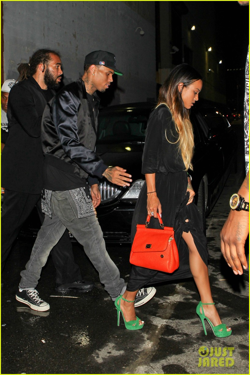 chris brown karreuche tran bet awards 2013 after party 012901856