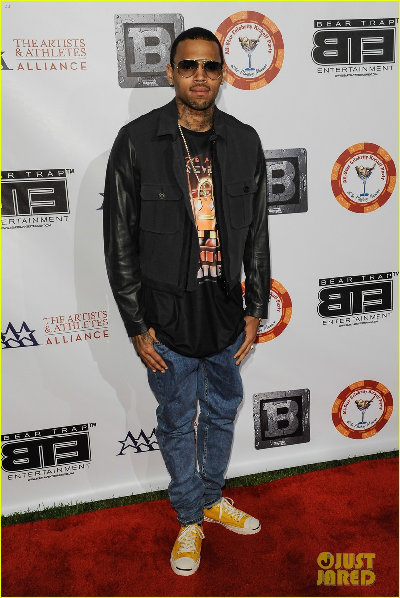 chris brown bte all star kickoff party after court appearance 03