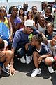 chris brown walk everywhere in unity shoes event 14