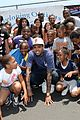 chris brown walk everywhere in unity shoes event 18