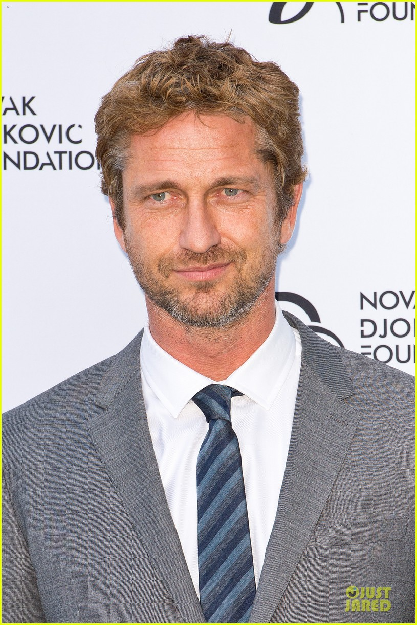 gerard butler novak djokovic foundation gala dinner 022906109