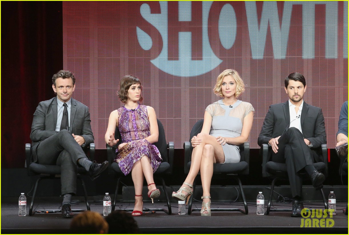 lizzy caplan michael sheen masters of sex tca tour panel 232920483