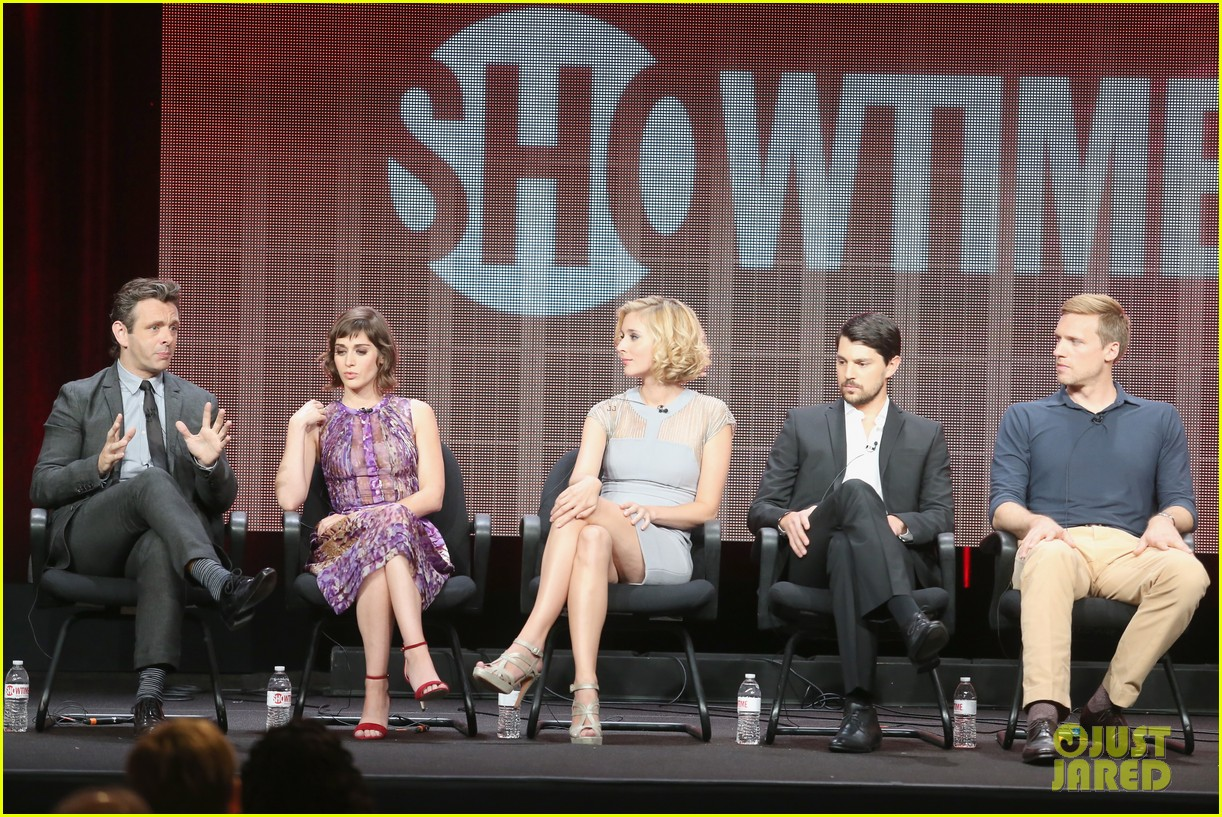 lizzy caplan michael sheen masters of sex tca tour panel 24