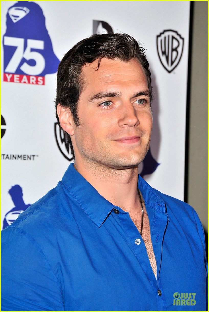 henry cavill superman 75 party at comic con 062912721