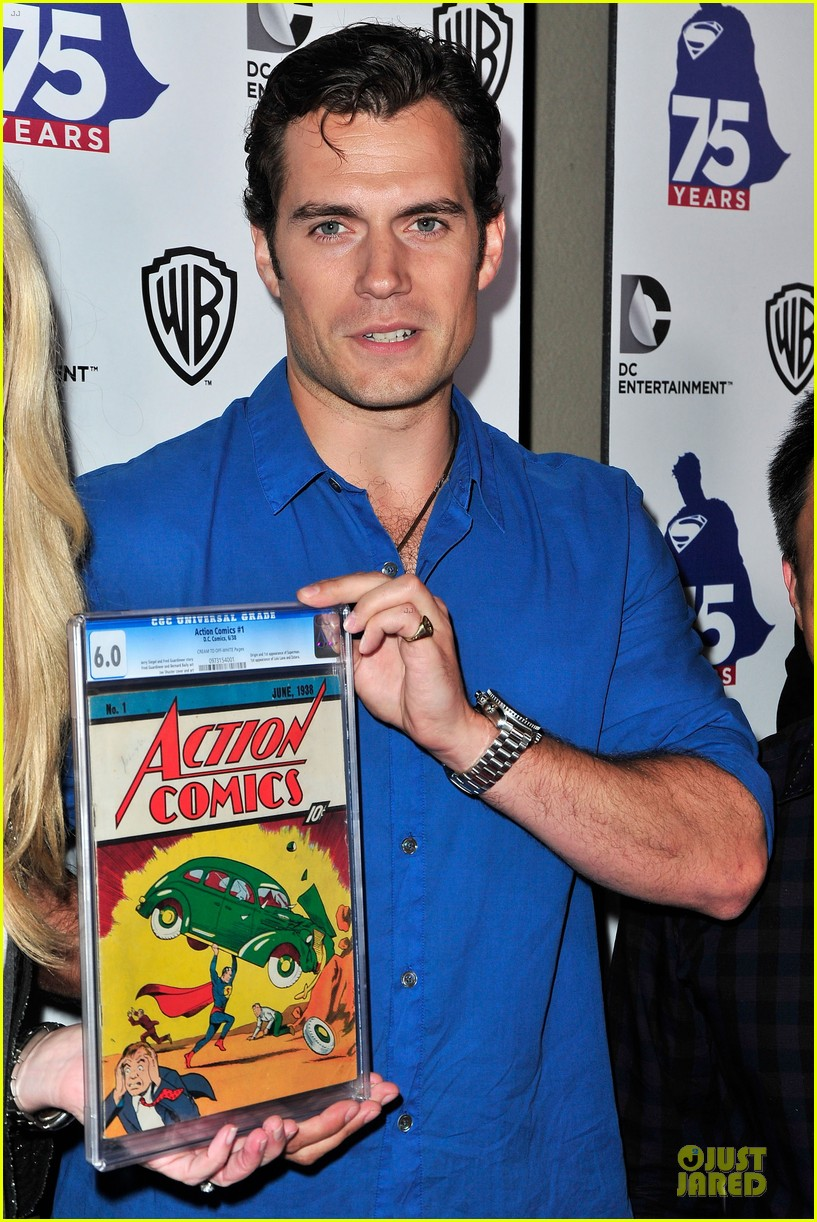 henry cavill superman 75 party at comic con 122912727
