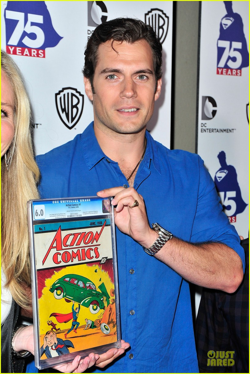 henry cavill superman 75 party at comic con 142912729