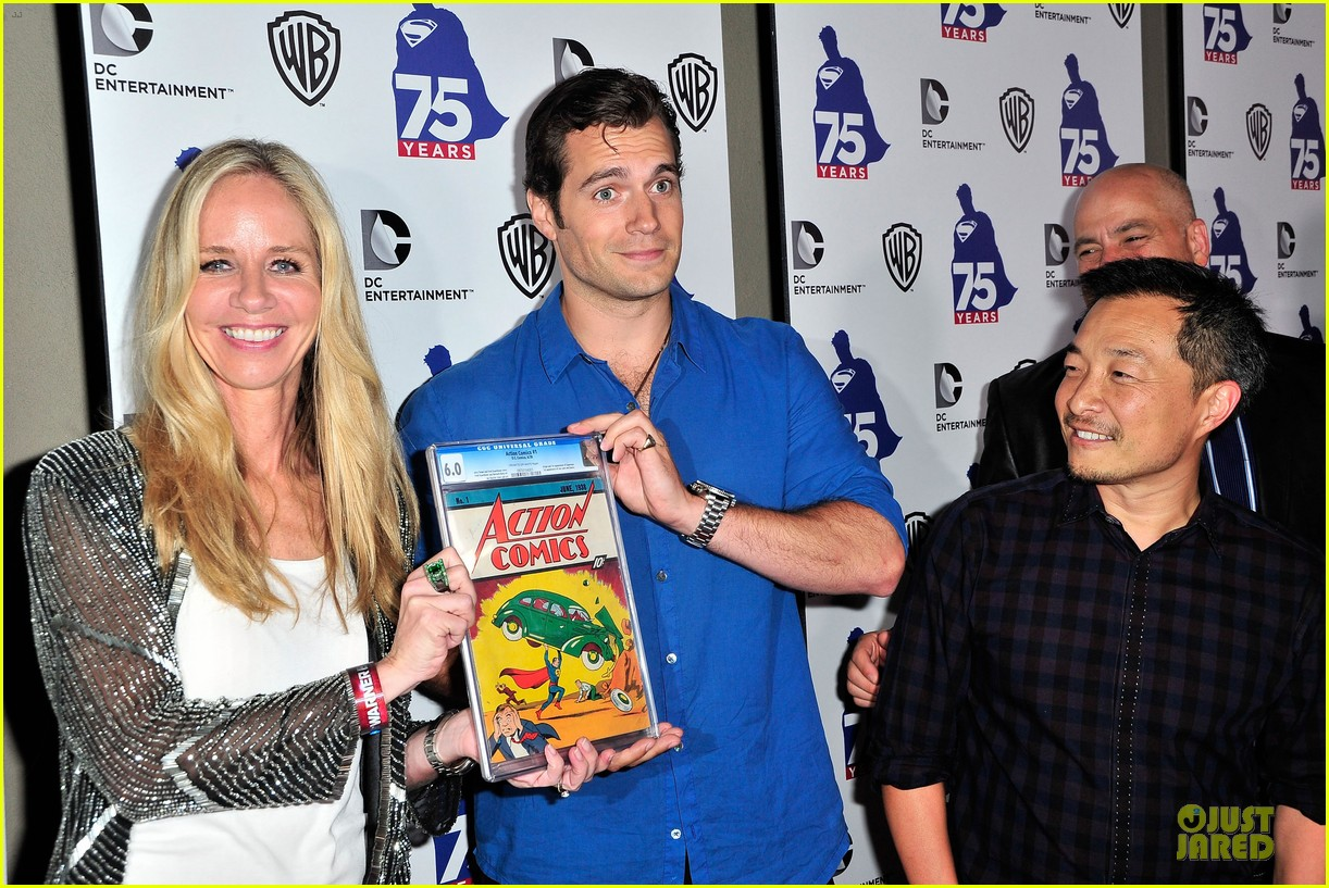 henry cavill superman 75 party at comic con 152912730