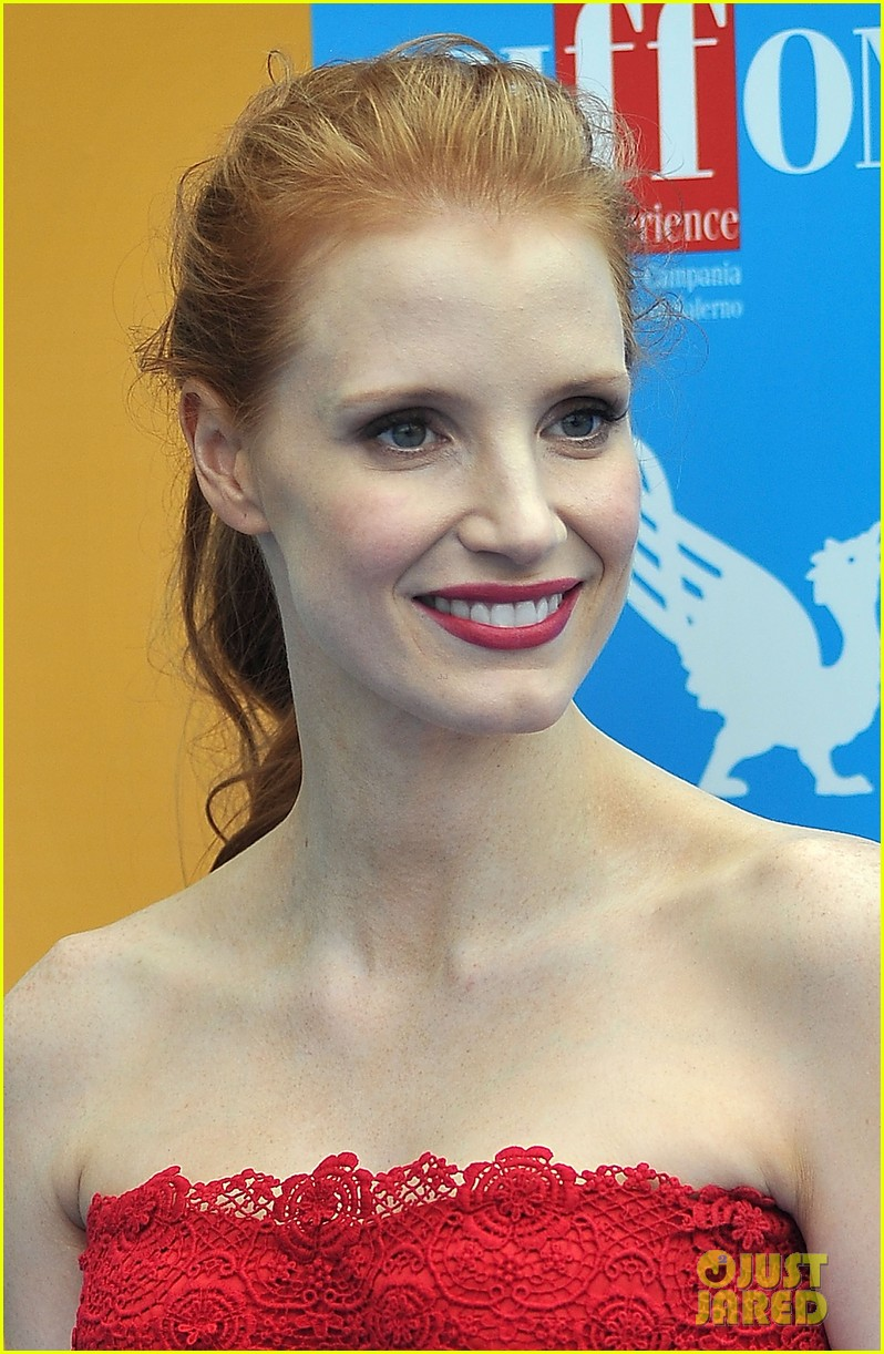 jessica chastain giffoni film festival honoree 022914002
