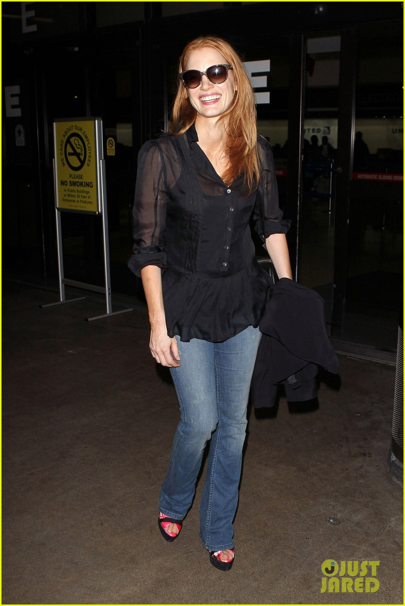 jessica chastain griffoni film festival this weekend 012912123
