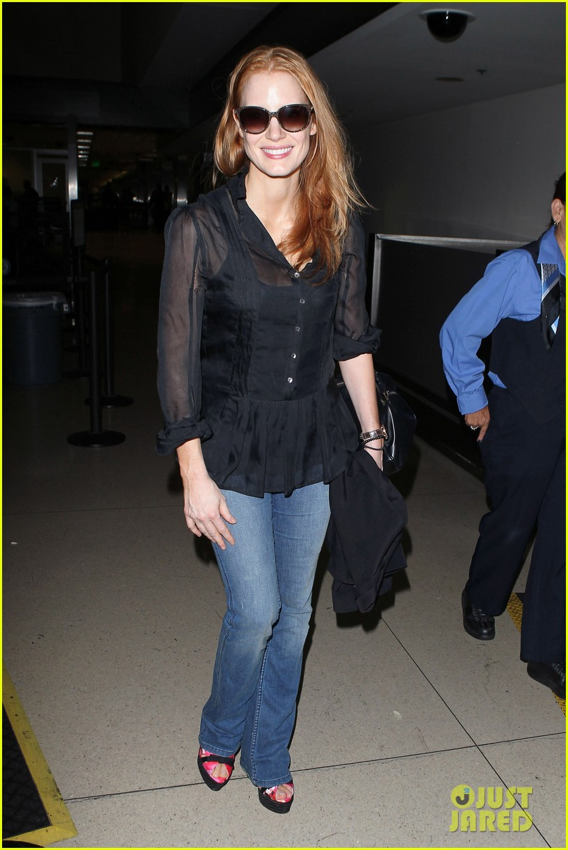 jessica chastain griffoni film festival this weekend 062912128