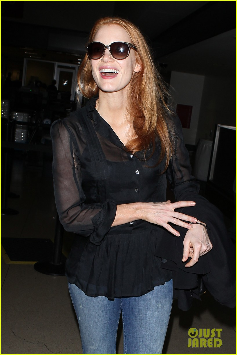 jessica chastain griffoni film festival this weekend 112912133