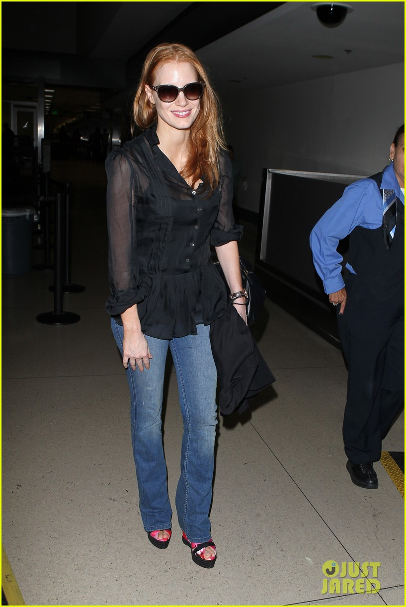 jessica chastain griffoni film festival this weekend 162912138