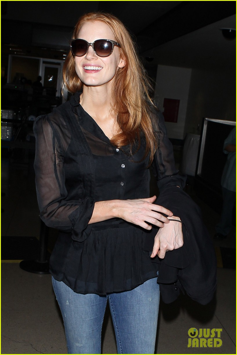 jessica chastain griffoni film festival this weekend 282912150