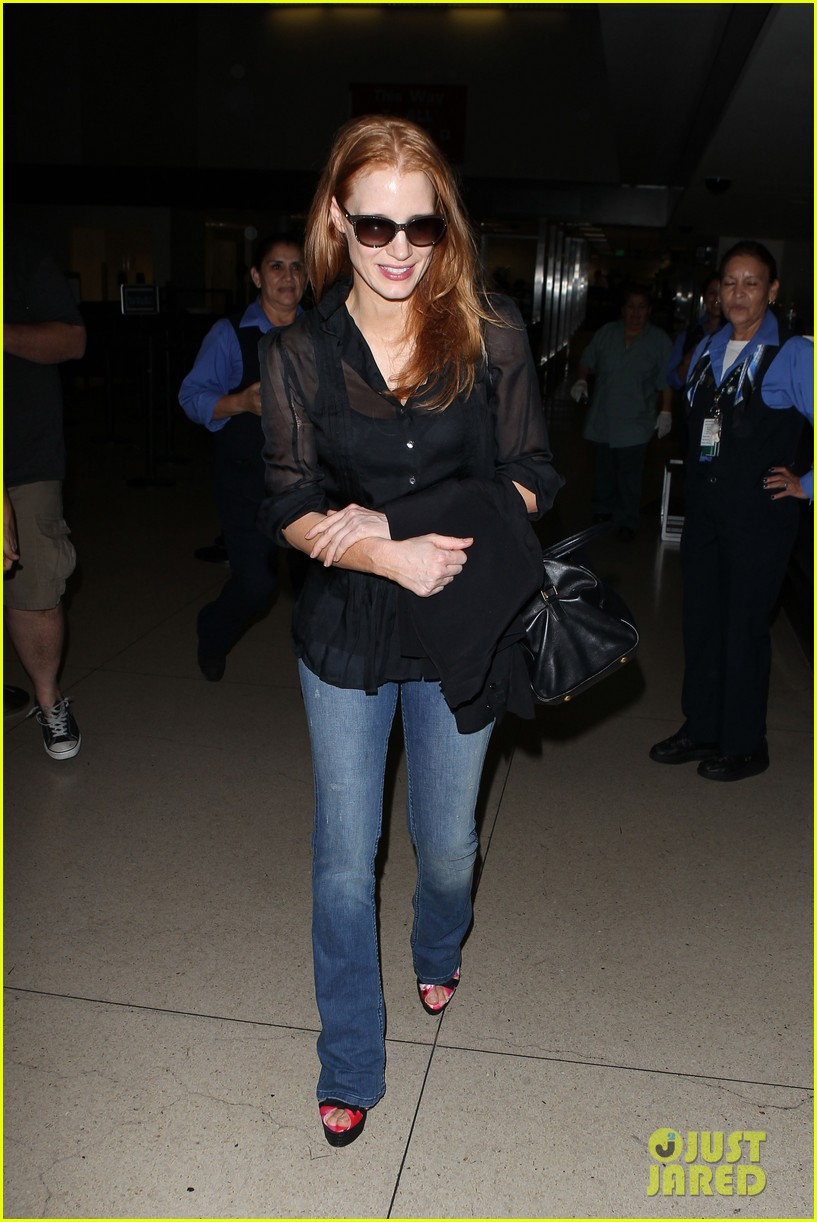 jessica chastain griffoni film festival this weekend 302912152