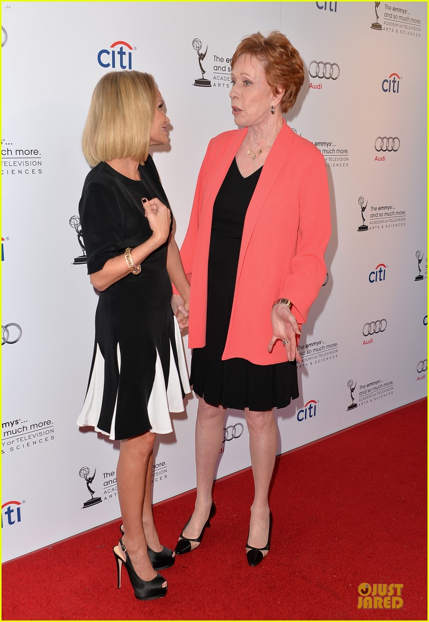 kristin chenoweth spends evening with carol burnett 142914943