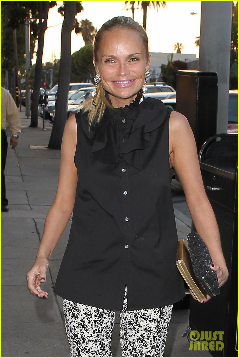kristin chenoweth i saw grease ten times in the theater 022912001