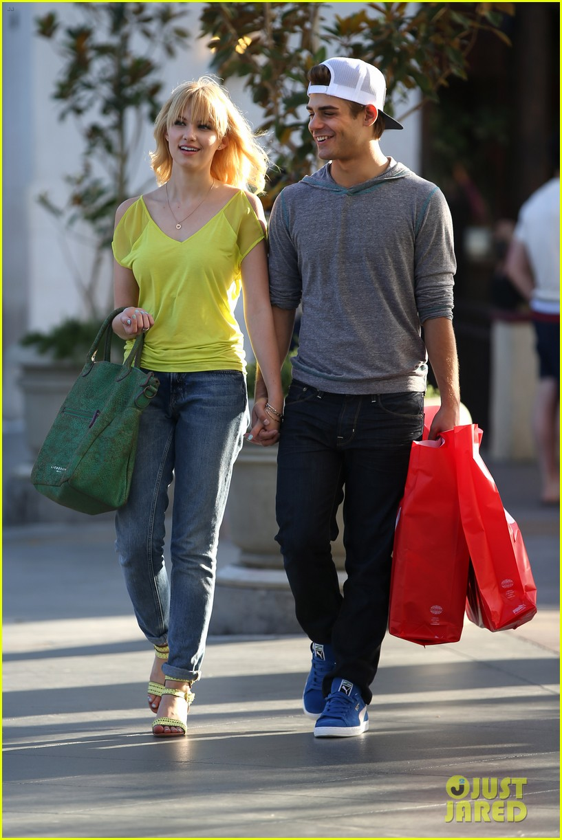 garrett clayton claudia lee holding hands 012916845