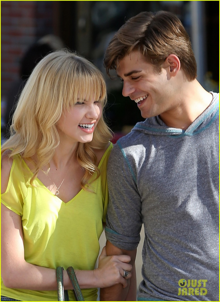 garrett clayton claudia lee holding hands 02