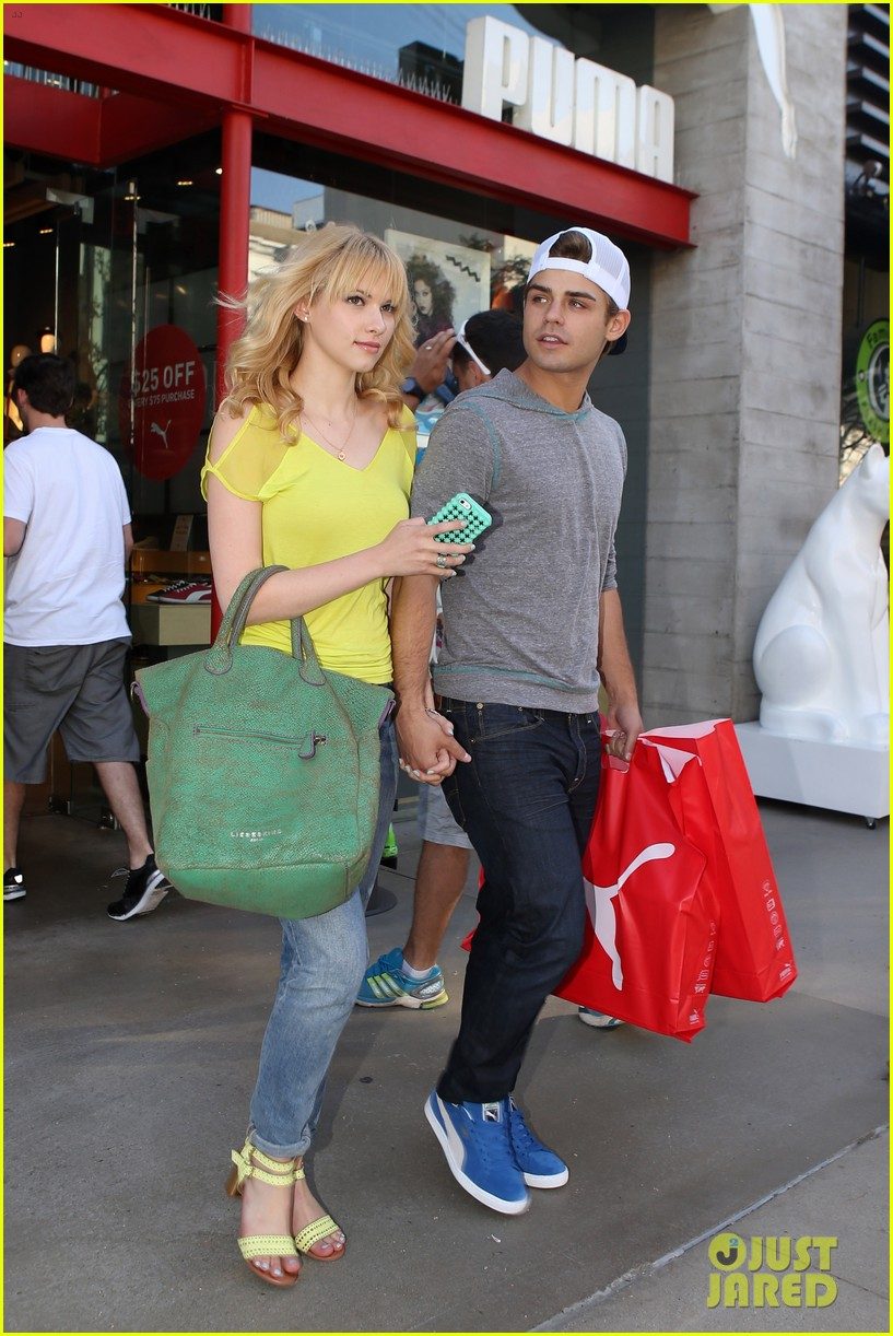 garrett clayton claudia lee holding hands 04