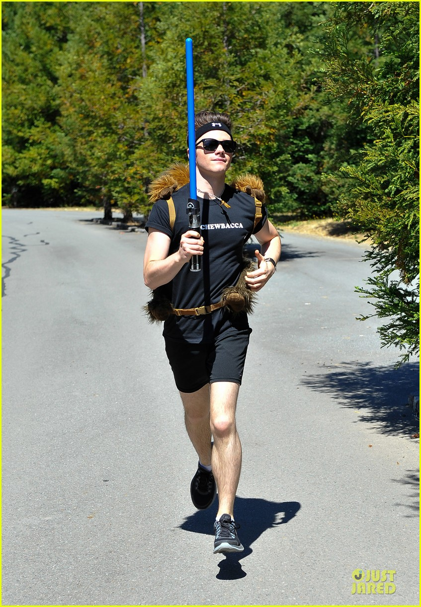 chris colfer alyson hannigan course of the force relay 012906958