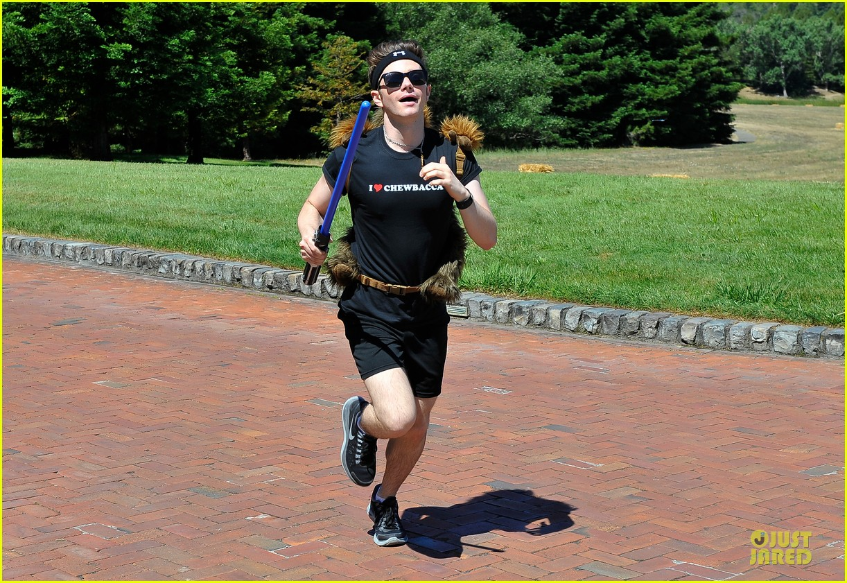 chris colfer alyson hannigan course of the force relay 072906964
