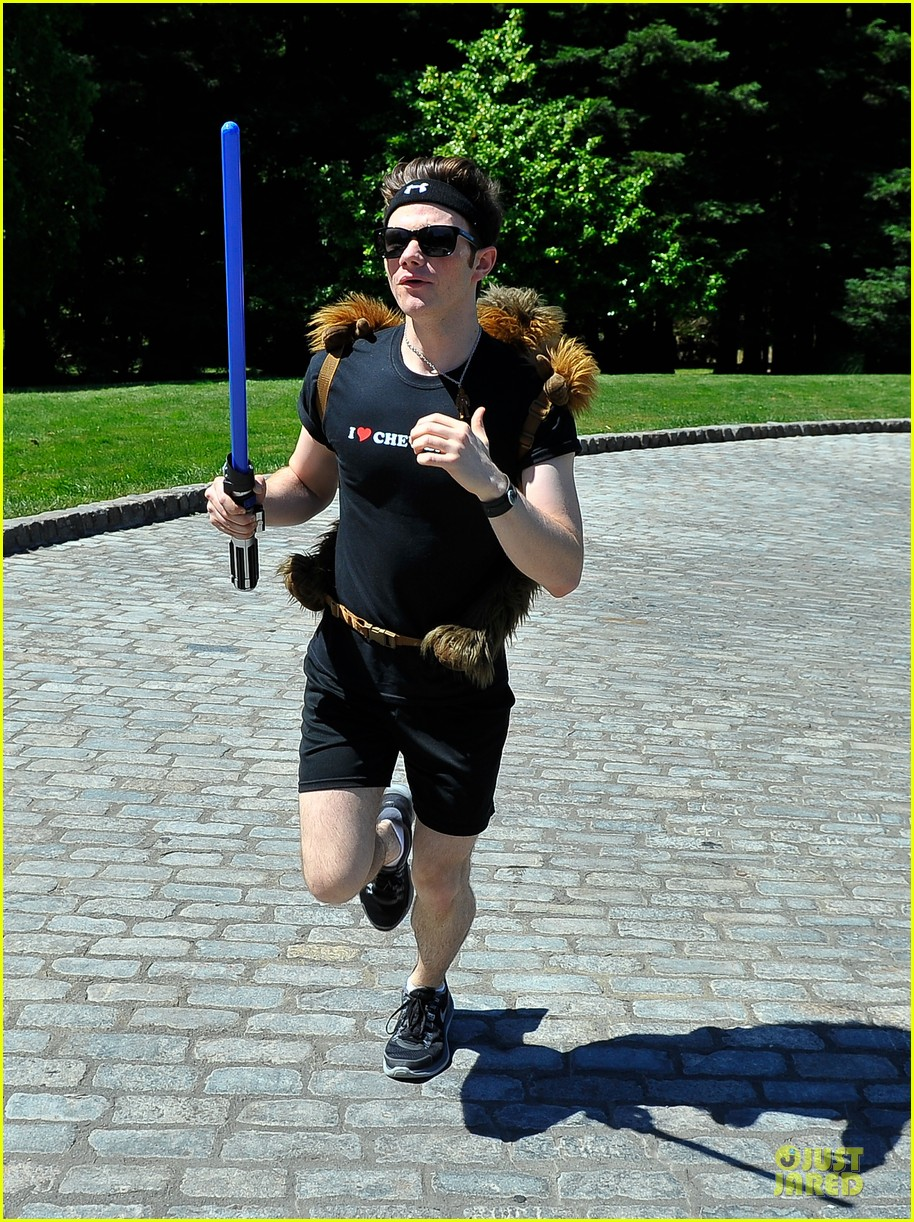 chris colfer alyson hannigan course of the force relay 11