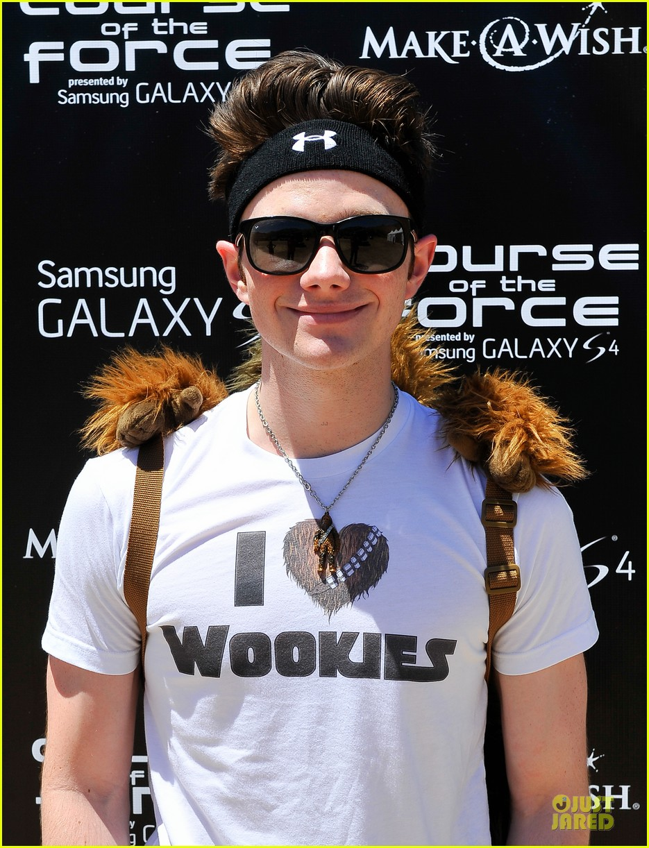 chris colfer alyson hannigan course of the force relay 122906969