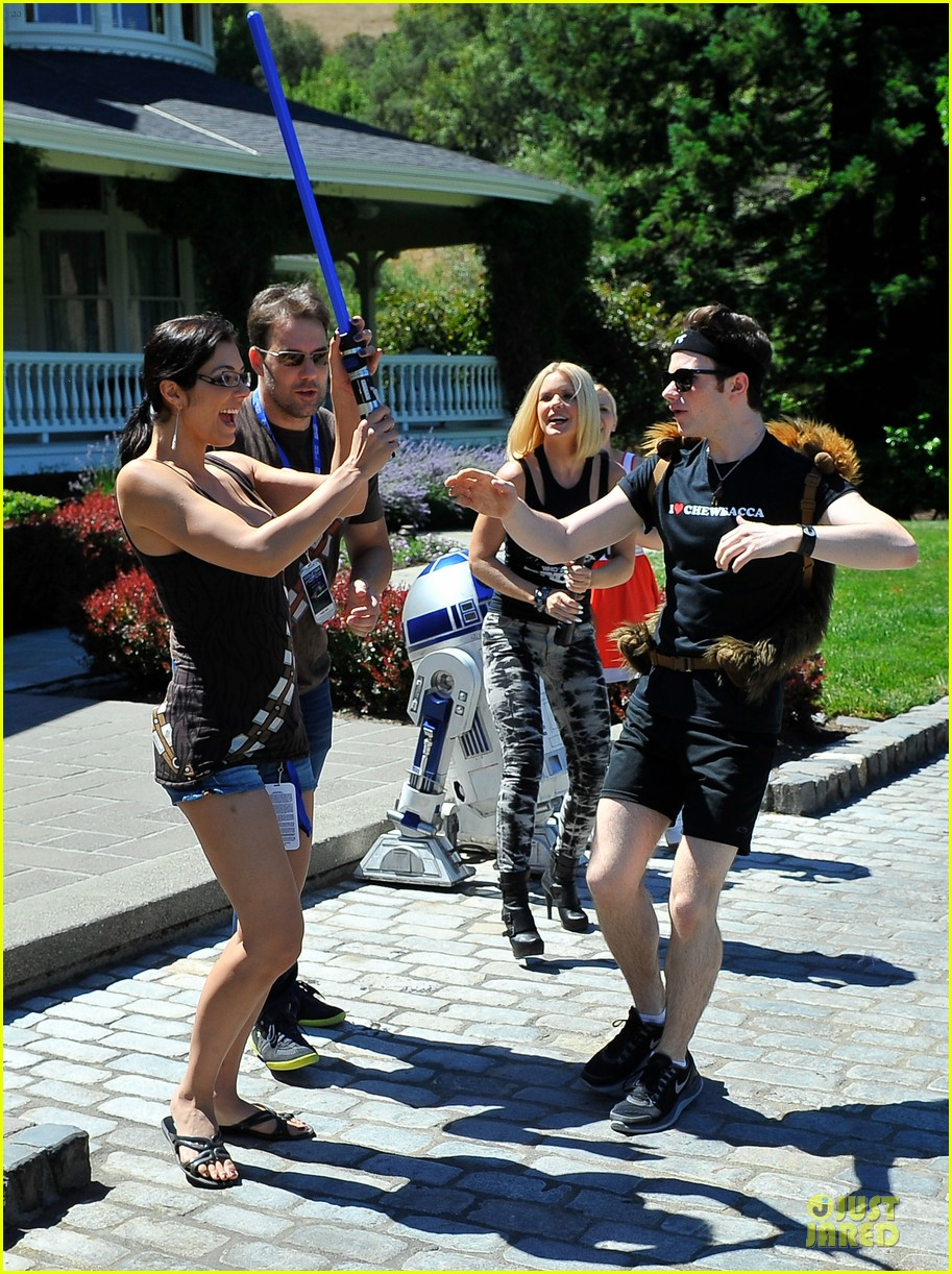 chris colfer alyson hannigan course of the force relay 13