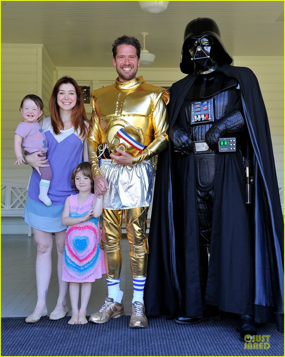 chris colfer alyson hannigan course of the force relay 18