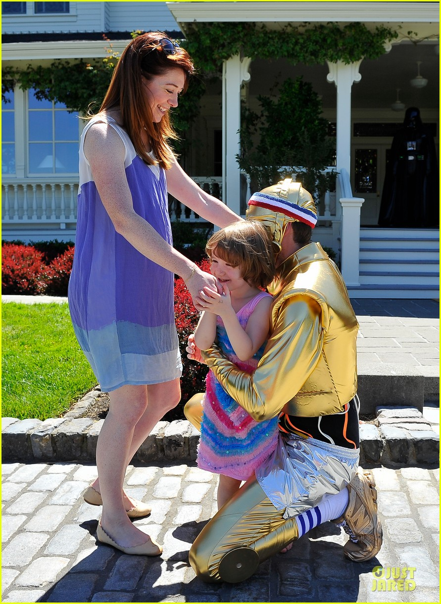 chris colfer alyson hannigan course of the force relay 22