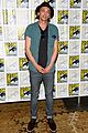 lily collins jamie bower campbell city of bones at comic con 05