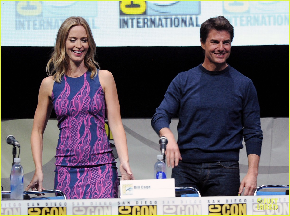 tom cruise emily blunt edge of tomorrow at comic con 062913016