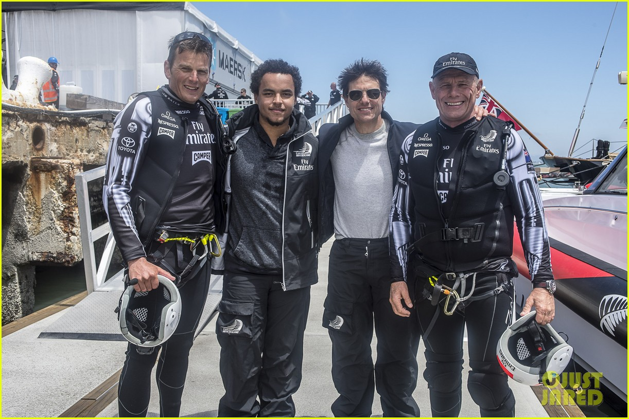 tom cruise connor emirates team new zealand sailing race 052919407