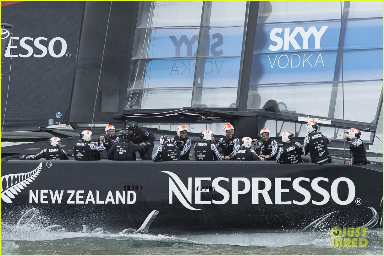 tom cruise connor emirates team new zealand sailing race 072919409