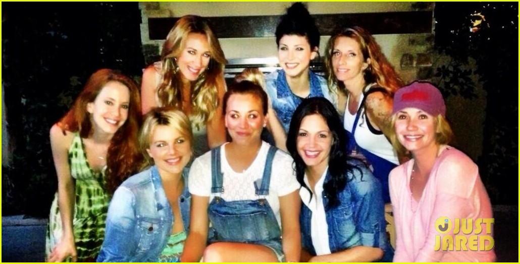 kaley cuoco dream come true meets the bachelorettes 042915976