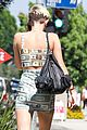 miley cyrus bares midriff with money dress 10