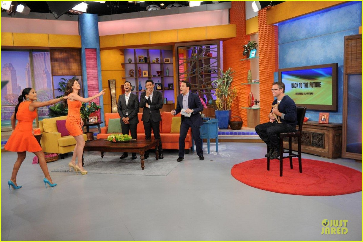 matt damon elysium promotion on despierta america 03
