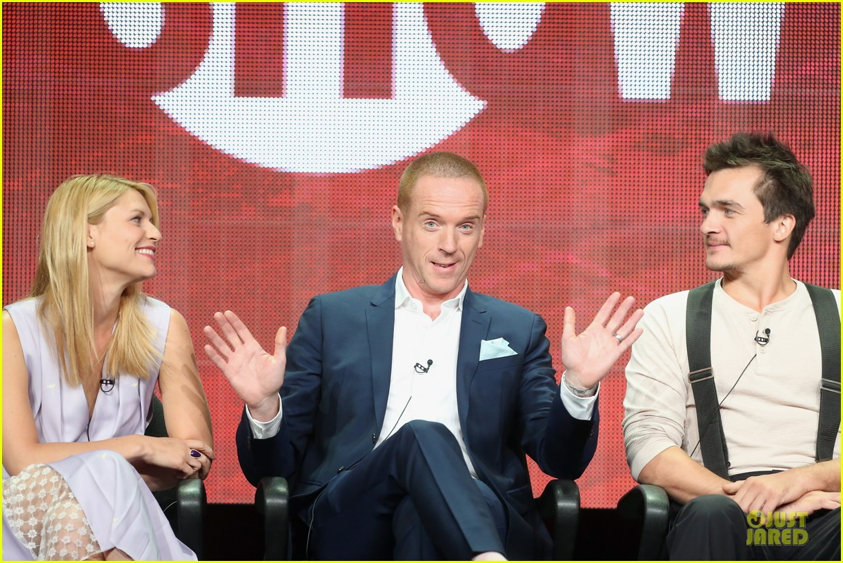 claire danes damian lewis homeland at showtime summer tca tour 042919808