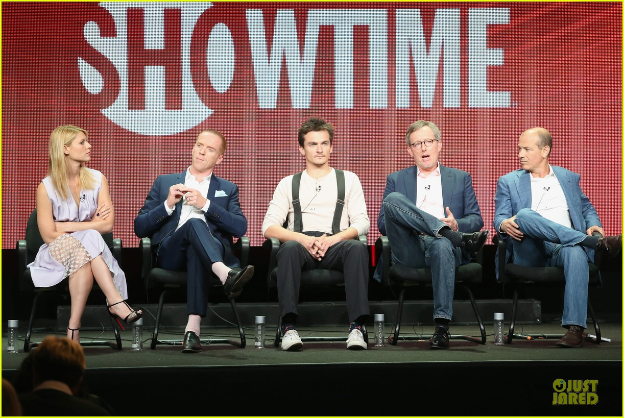 claire danes damian lewis homeland at showtime summer tca tour 102919814