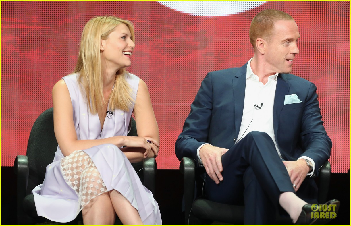 claire danes damian lewis homeland at showtime summer tca tour 182919822