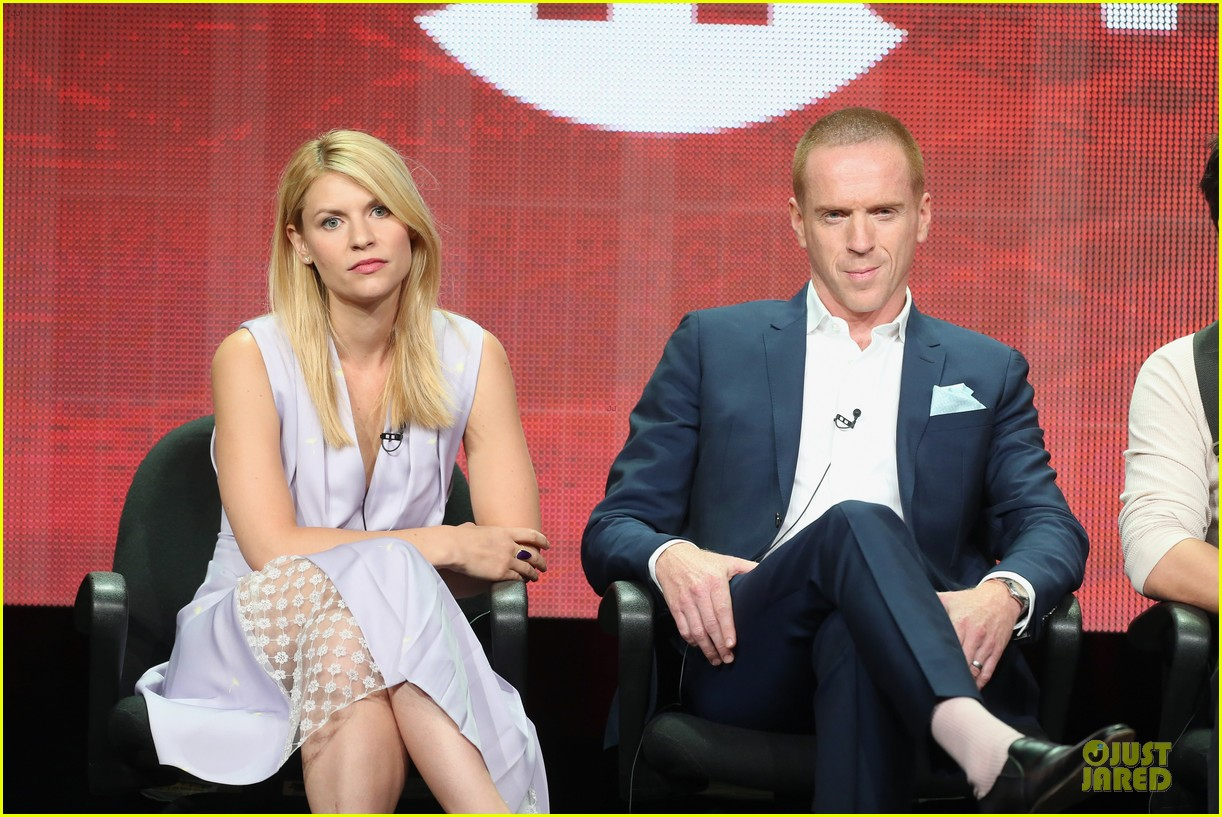claire danes damian lewis homeland at showtime summer tca tour 192919823