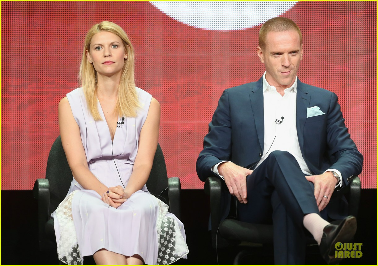 claire danes damian lewis homeland at showtime summer tca tour 22
